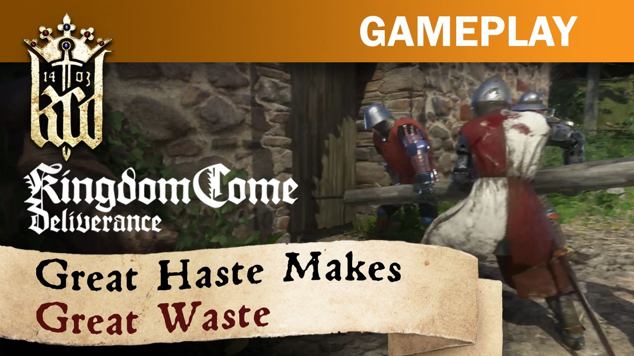 Great Haste Makes Great Waste